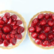 Recipe for Strawberry Tart with Cheesecake Filling