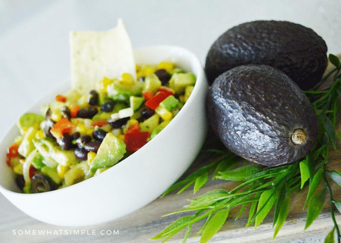 a bowl of Texas caviar