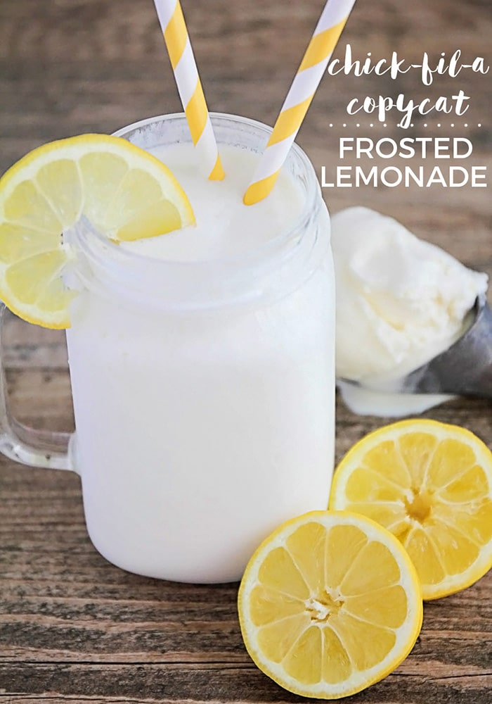 Frosted Lemonade copycat recipe from chick-fil-a