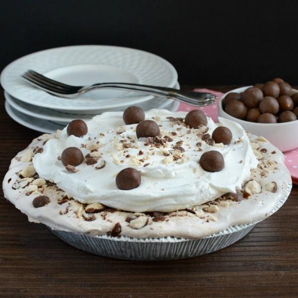 Frozen Malt Shop Ice Cream Pie