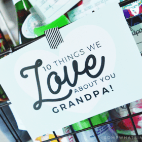Gift basket for dad or grandpa filled with things they love