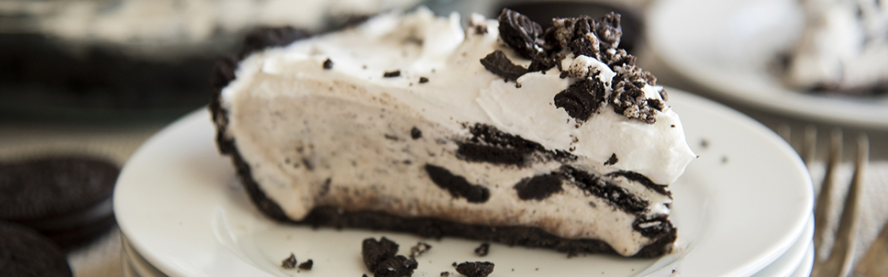 oreo ice cream pie slider photo
