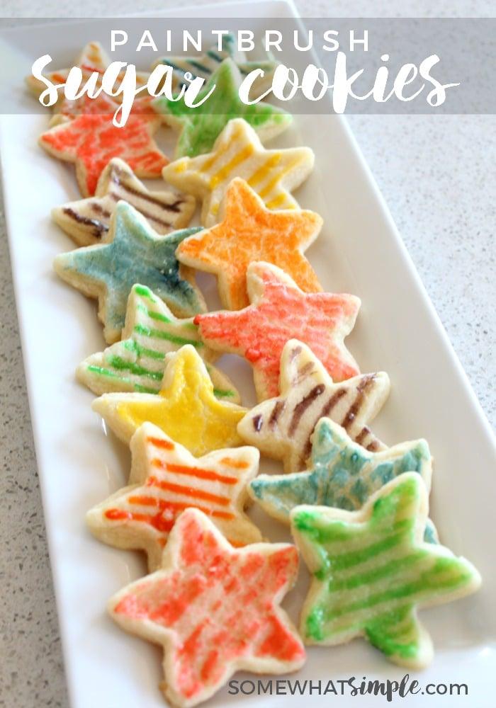 Paintbrush Sugar Cookies 1