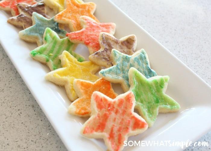Paintbrush Sugar Cookies 10
