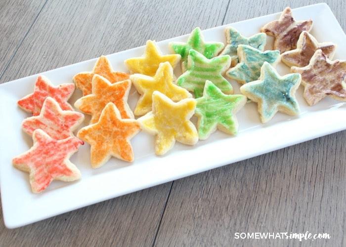 Paintbrush Sugar Cookies 9