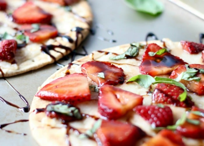 Strawberry Balsamic Flatbread 3