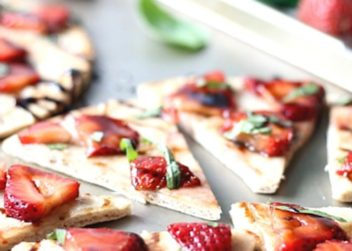 Strawberry Balsamic Flatbread 5