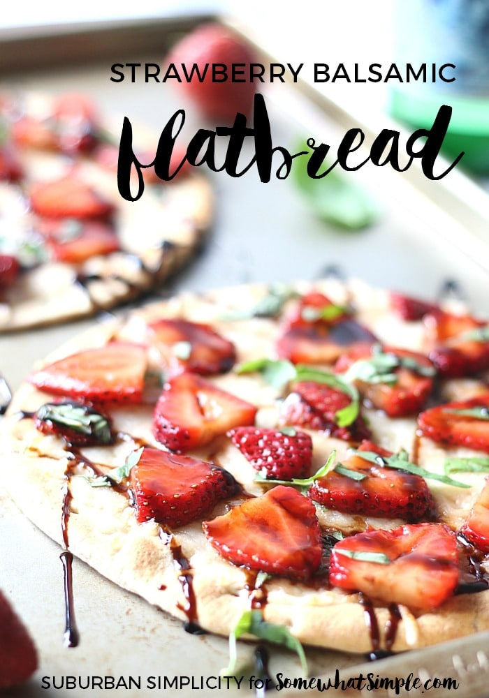 Strawberry Balsamic Flatbread Recipe
