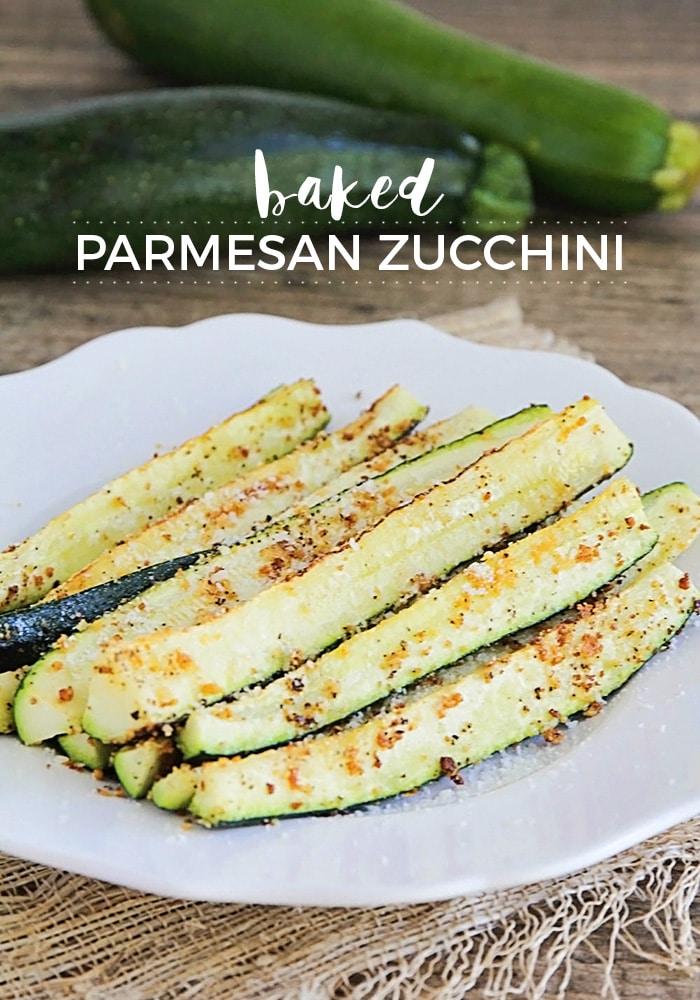 Baked parmesan zucchini is simple, healthy, and delicious snack or appetizer!  They're made with fresh zucchini spears, grated parmesan cheese and baked to perfection! #bakedzucchiniparmesan #healthysidedish #healthybakedzucchiniparmesan #zucchiniparmesanrecipe via @somewhatsimple