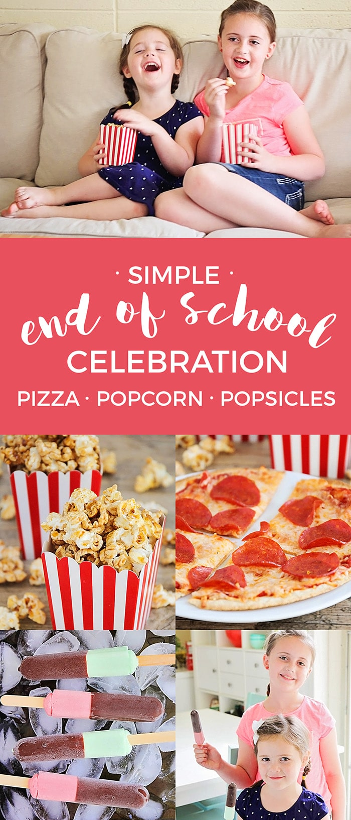 Simple End of School Celebration