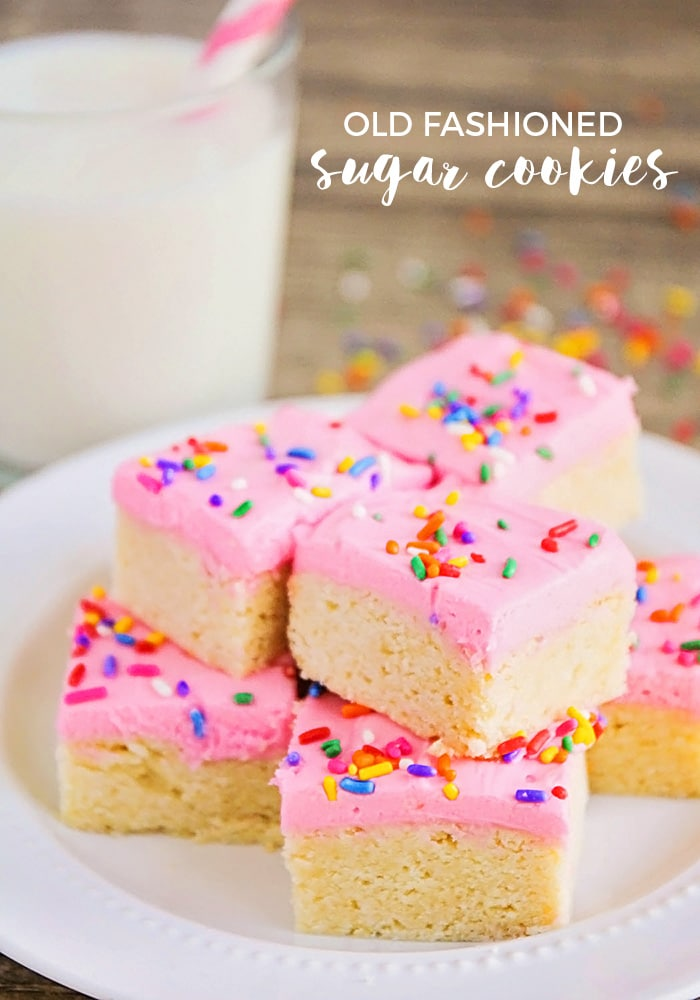 Old Fashioned Sugar Cookies are quite possibly the best sugar cookie ...