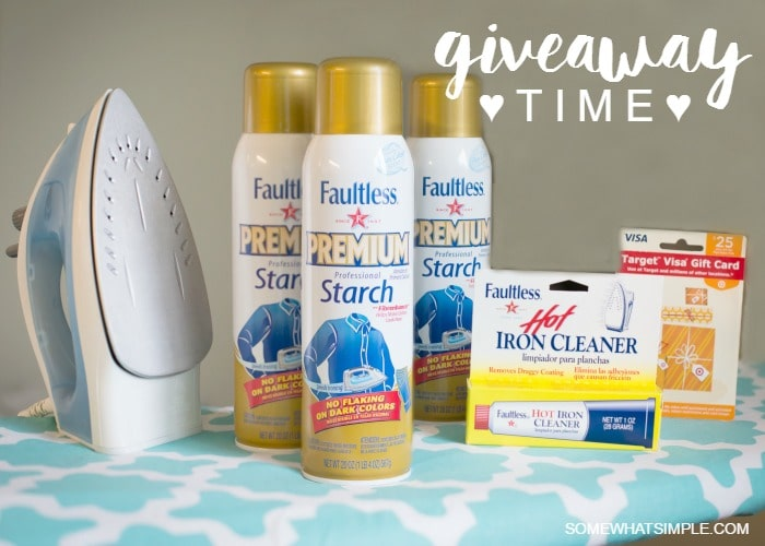 Faultless Giveaway