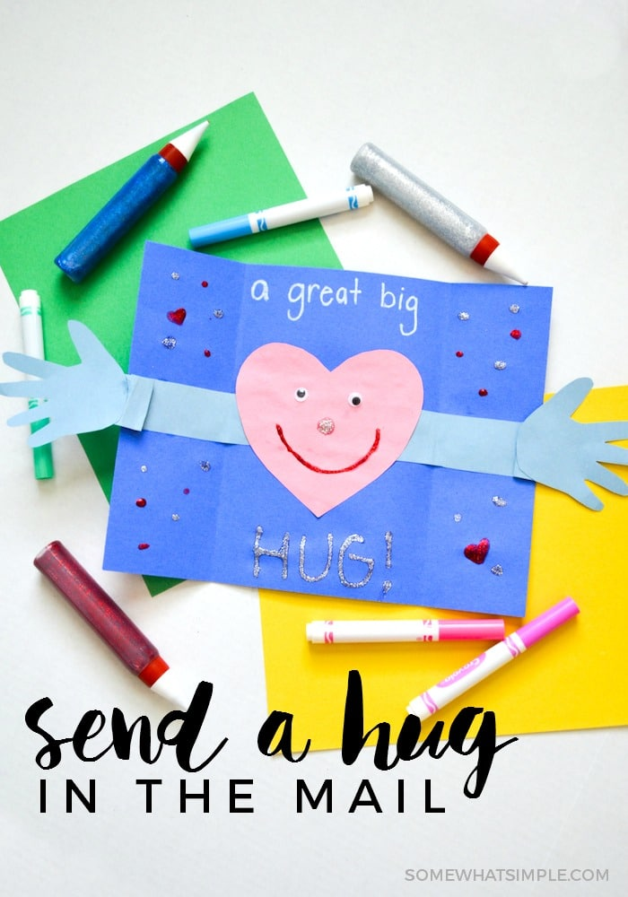 Give a Hug Card Craft