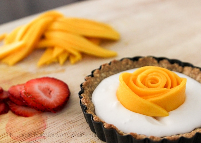 Healthy Tropical Fruit Tart-10
