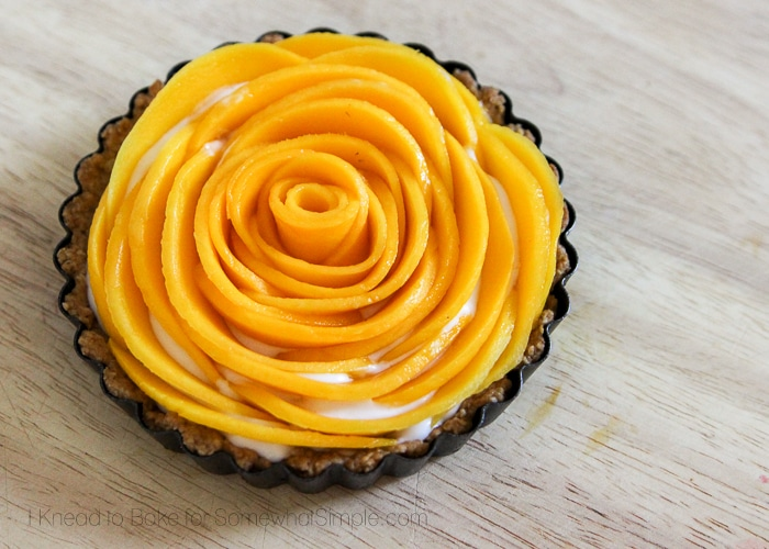 Healthy Tropical Fruit Tart-11