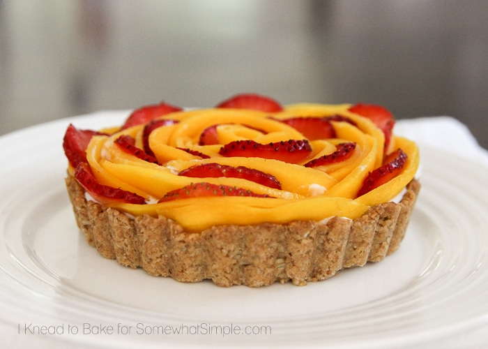 Healthy Tropical Fruit Tart-12