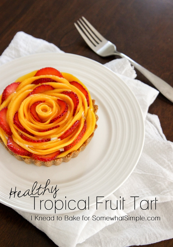 Healthy Tropical Fruit Tart-13