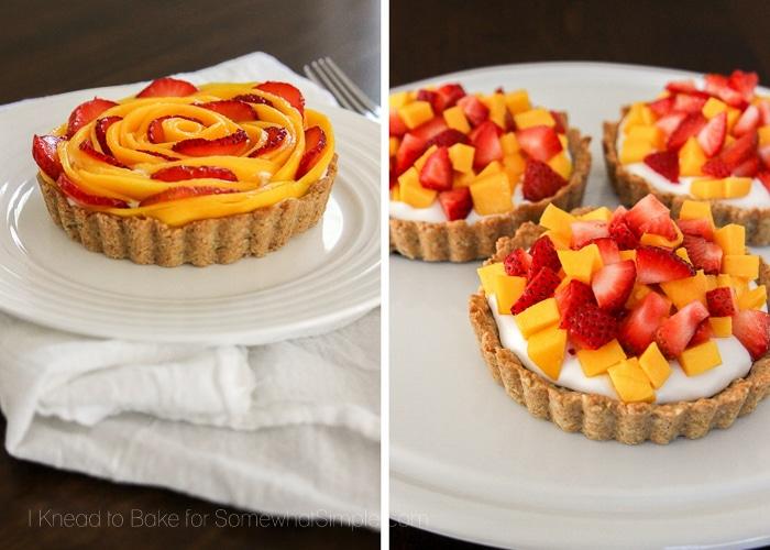 Healthy Tropical Fruit Tart-4