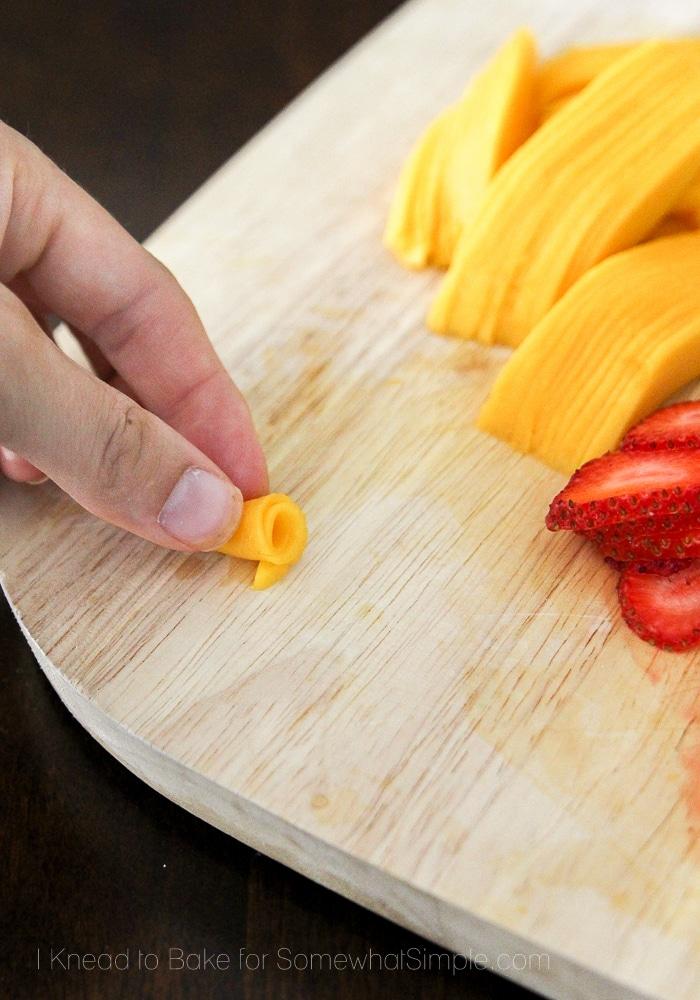 Healthy Tropical Fruit Tart-6