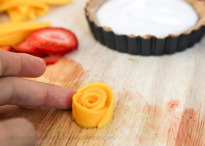 Healthy Tropical Fruit Tart-9
