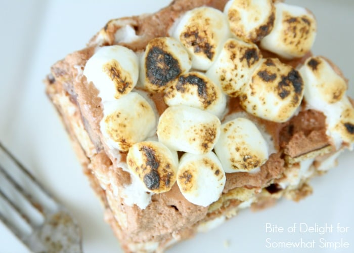 S'mores Icebox Cake 5