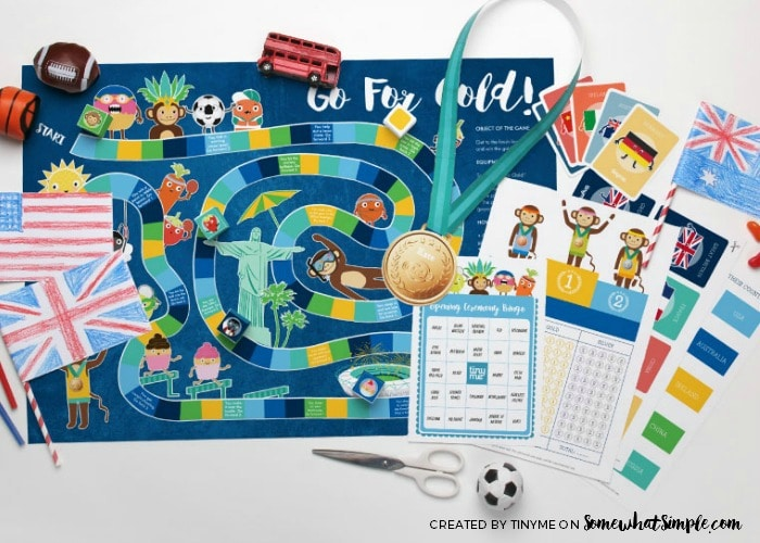 Summer Olympics Activity Sheets 1