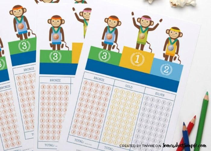 Summer Olympics Activity Sheets 2