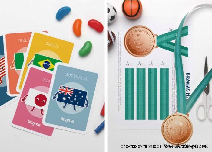 Summer Olympics Activity Sheets 6