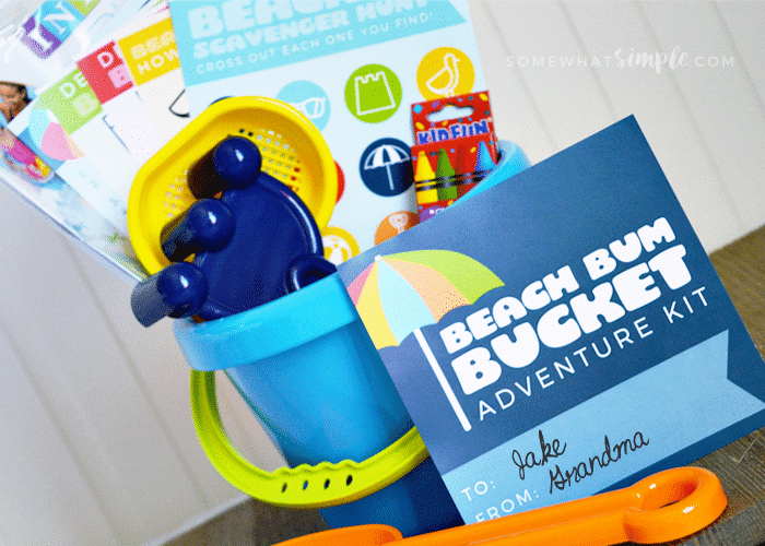 beach bum bucket adventure