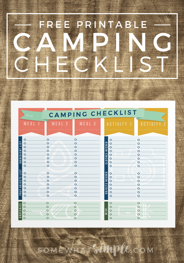 It's just a photo of Sassy Printable Rv Checklist