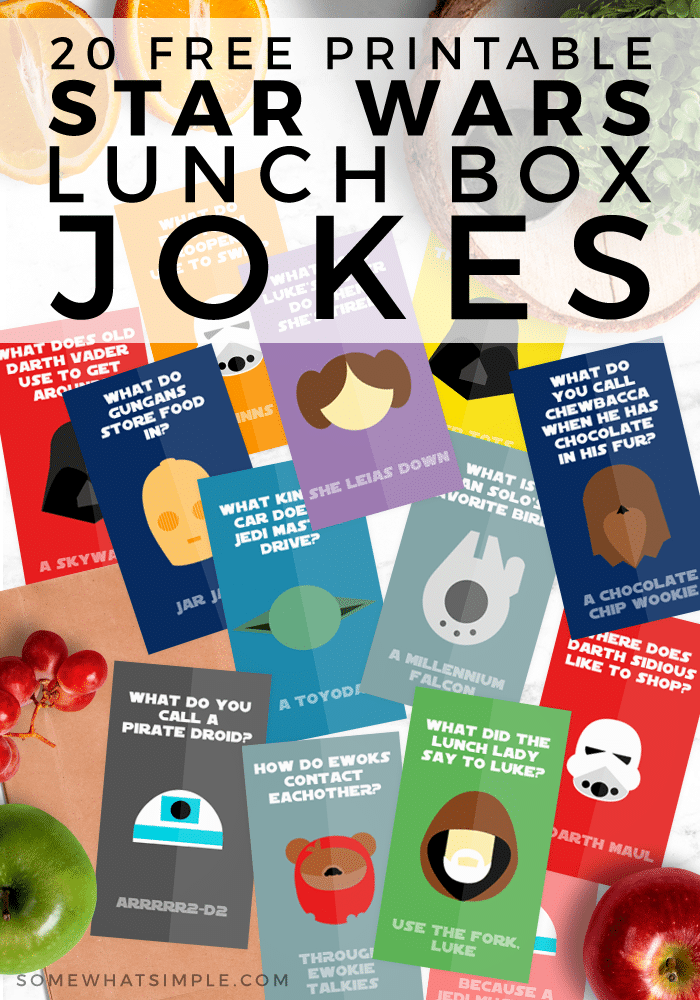 star wars lunch ideas