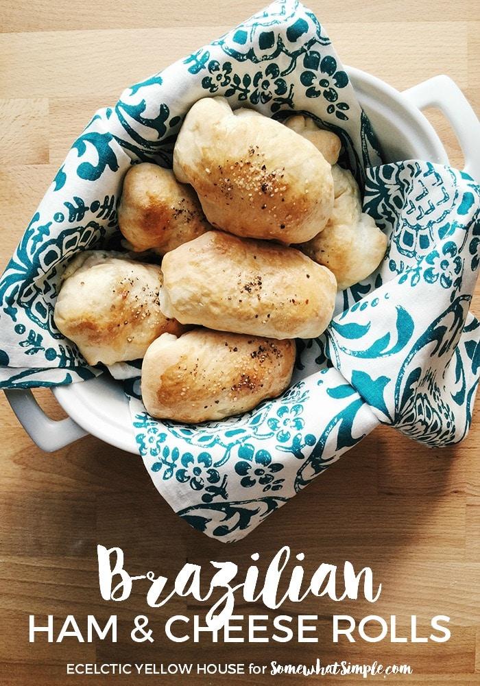Brazilian Ham and Cheese Rolls