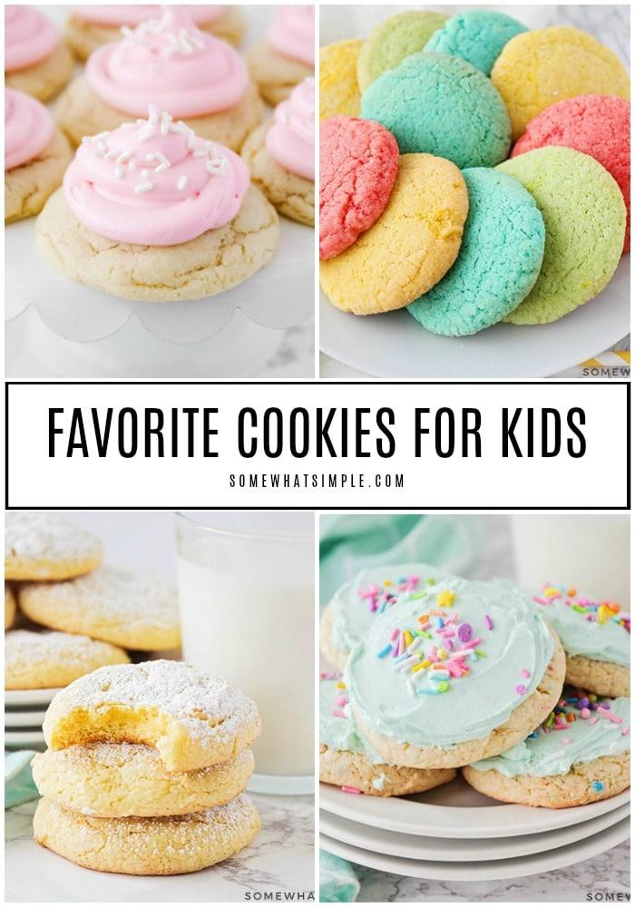 Favorite Cookies for Kids