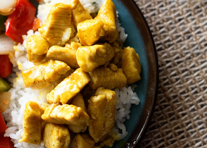 Honey Mustard Curry Chicken