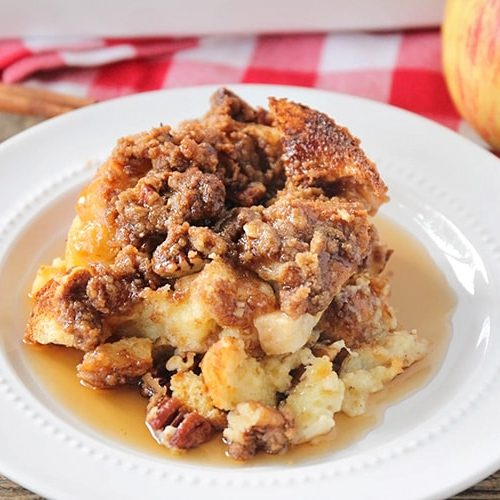 Apple Cinnamon French Toast Bake