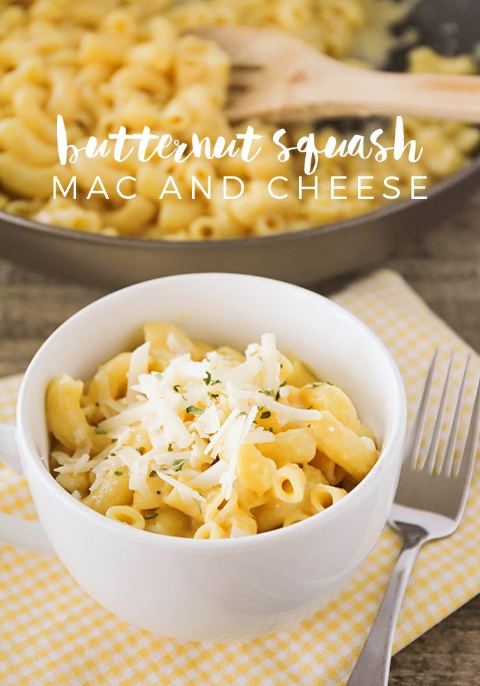 Butternut Squash Mac and Cheese - Somewhat Simple