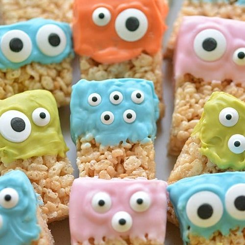 monster Rice Krispie Treats