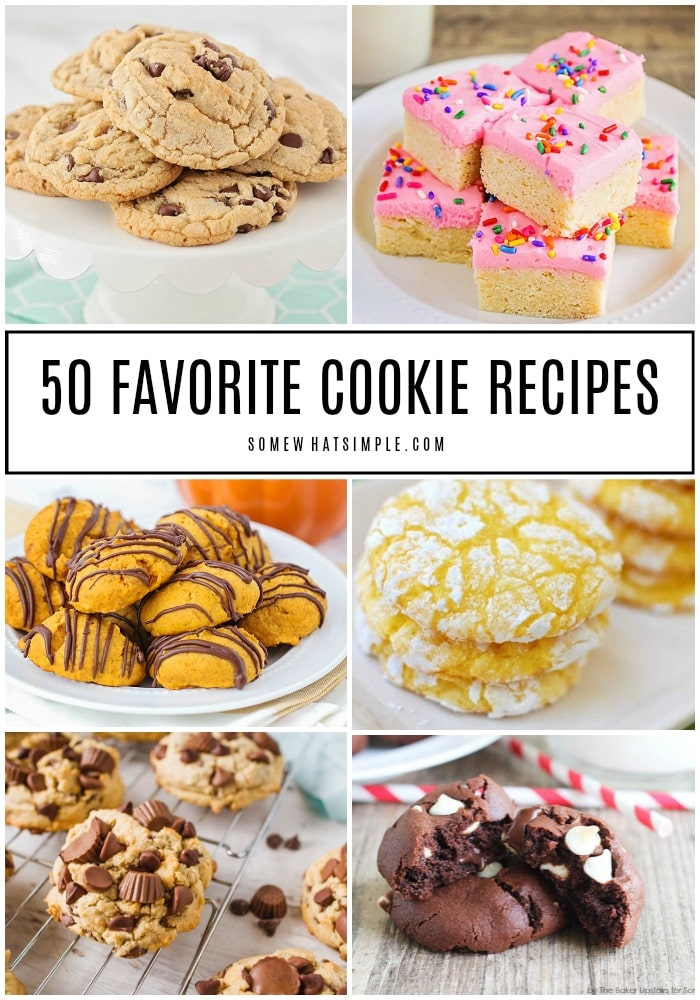 50 Favorite Cookie Recipes
