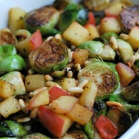 Apple Brussel Sprouts