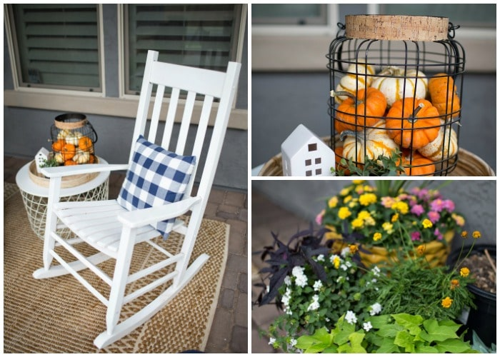 Easy Fall Porch Decor