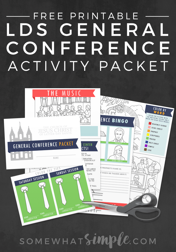 lds-general-conference-activity-packet