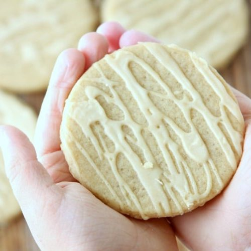Maple Sugar Cookies | Fall Treat
