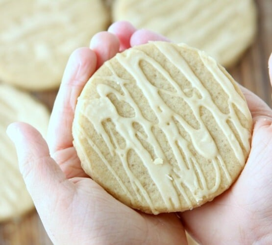 Maple Sugar Cookies | Fall Treat