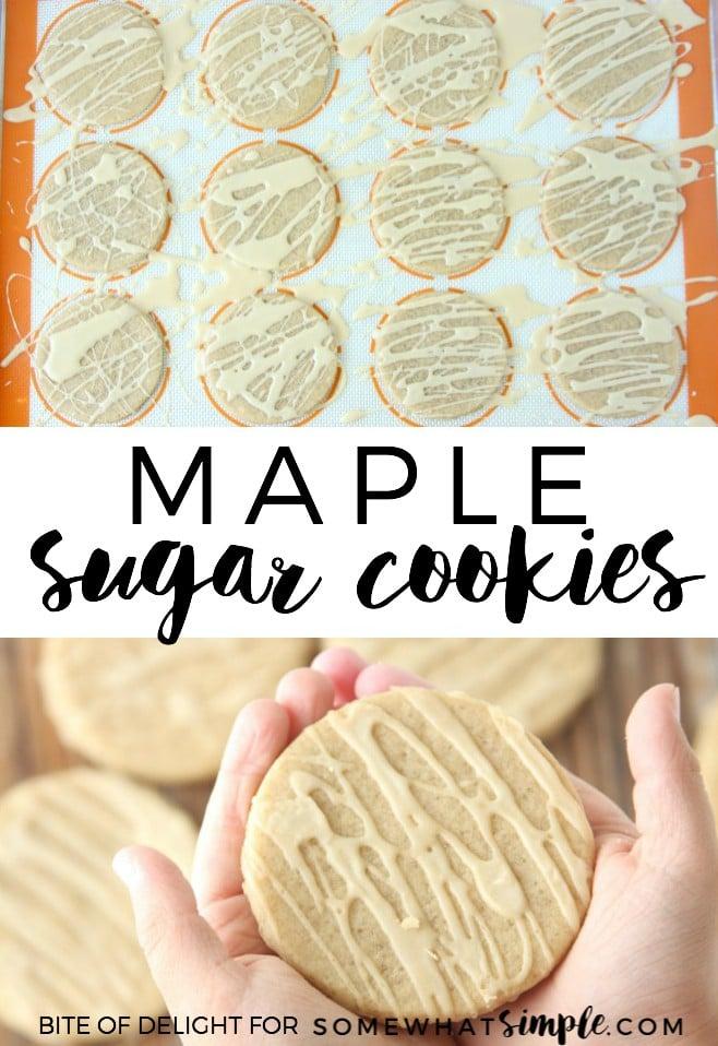 Maple Sugar Cookies recipe
