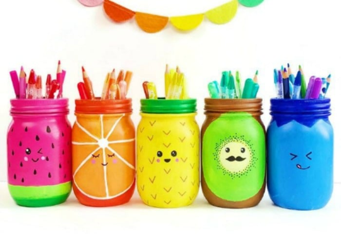 Mason Jar Crafts And Decor Ideas From Somewhat Simple