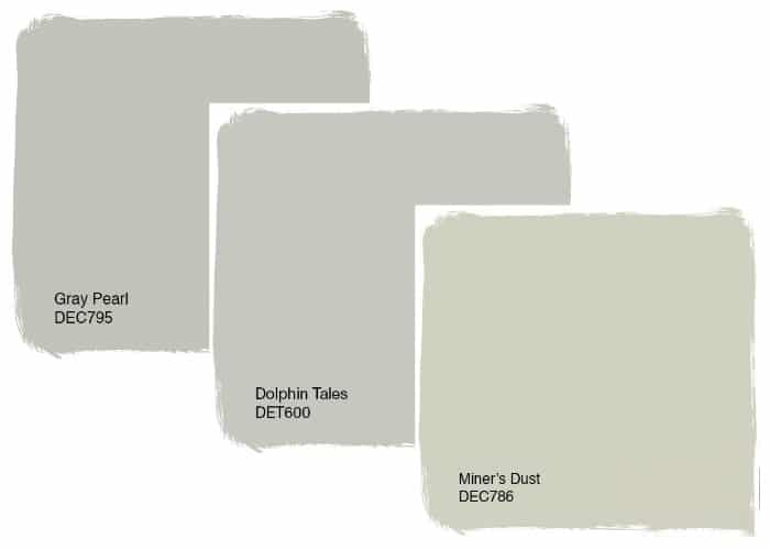 Best gray paint color no purple no green no blue for Frazee paint swatches
