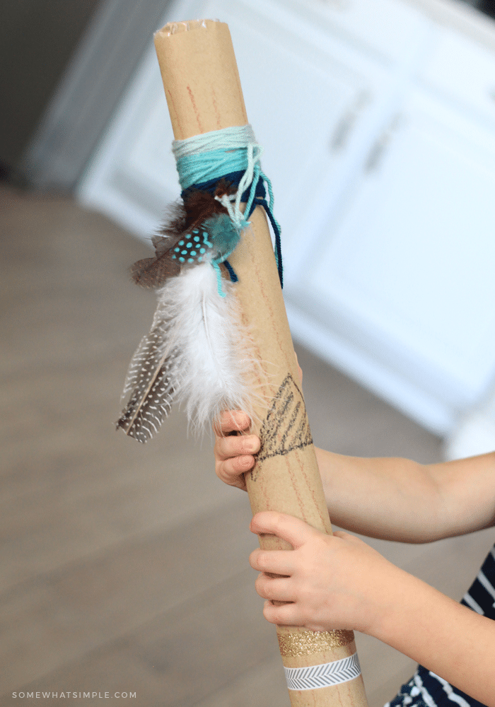 rain sticks diy craft for kids