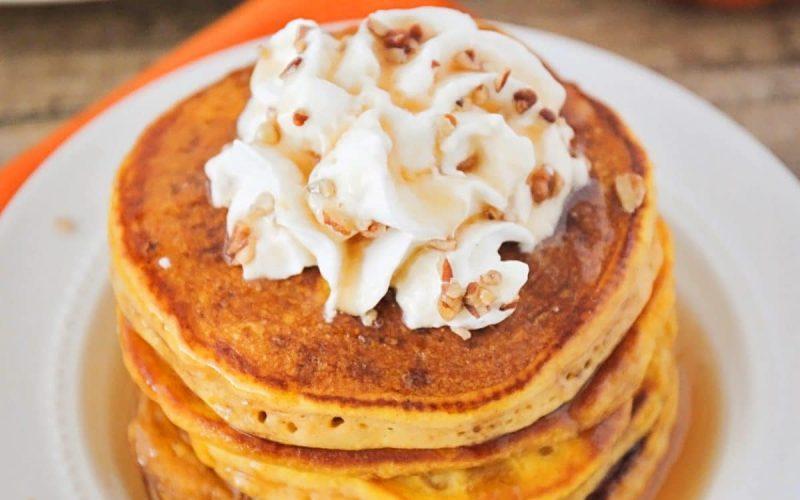 The Best Pumpkin Pancake Recipe