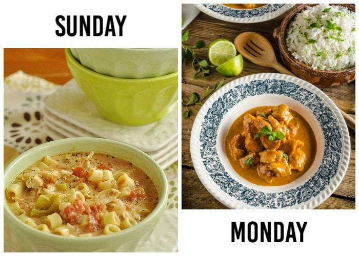 Weekly menu plan week 50 let 39 s eat somewhat simple for 010 cuisine weekmenu