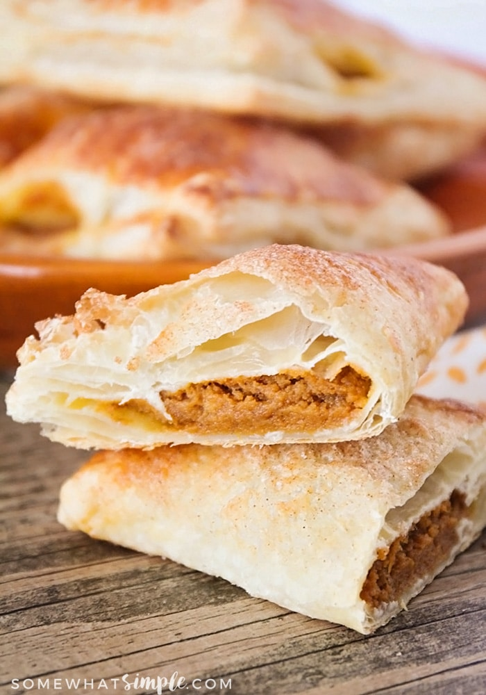 Pumpkin Pie Turnovers